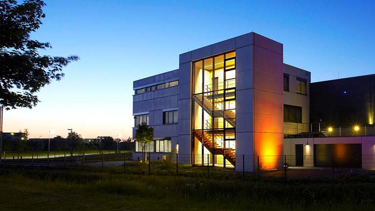 aixFOAM soundproofing - The state-of-the-art production building in Eschweiler, Germany