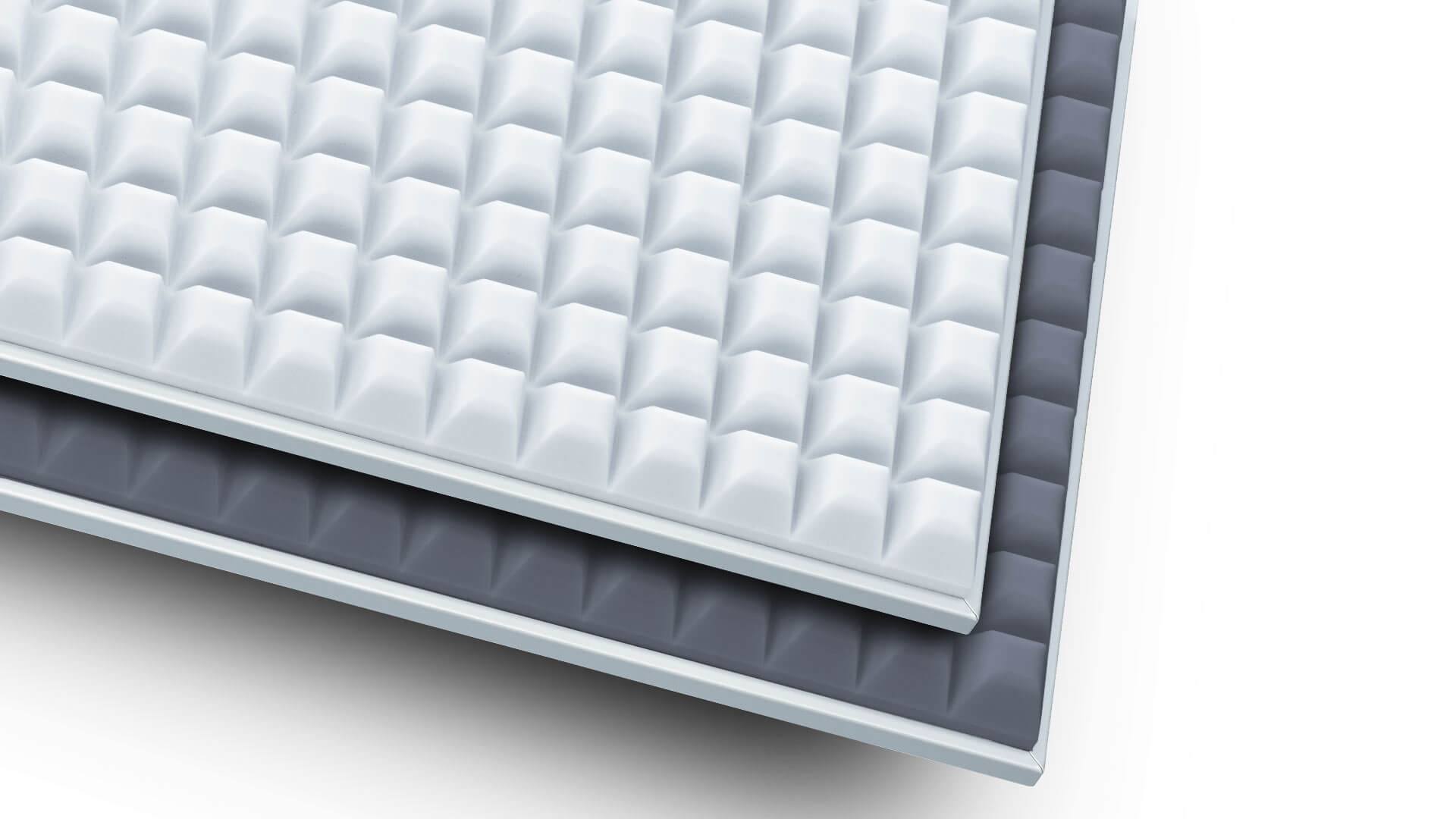 aixFOAM sound insulation - premium absorbers for maximum sound insulation