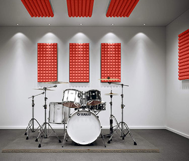 aixFOAM Drum kit insulation set