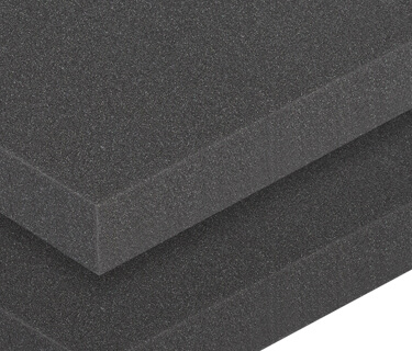 Sound insulation mat with smooth surface