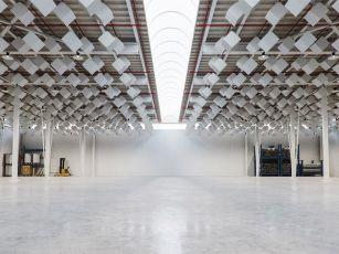 Premium ceiling absorber 'Cubix'