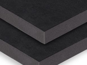 Acoustic panel with robust textile surface