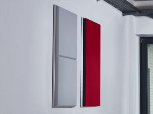 Acoustic frame with your preferred absorber