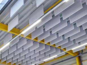 Acoustic baffles Industry