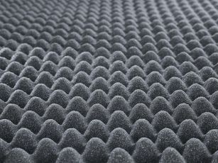 Nubbed foam for technical insulation