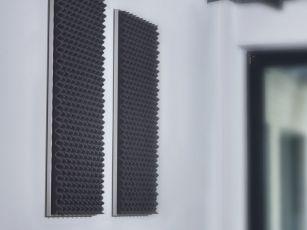Acoustic nubbed foam