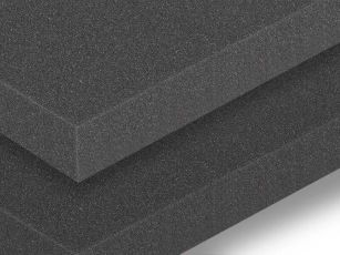 Acoustic sound insulation mat with smooth surface