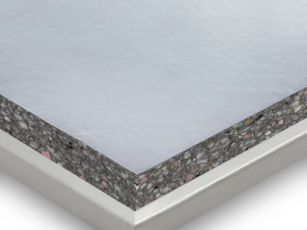 Sound insulation panels with membrane absorber