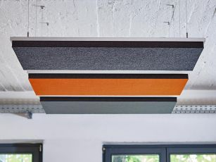 Design acoustics absorber square