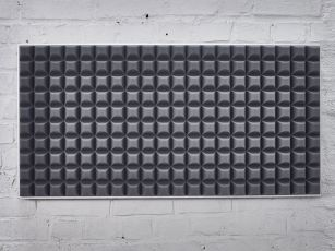 Sound absorber with modern trapezoid profile