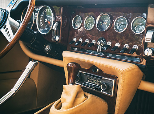 Soundproofing reduces noise in classic vehicles and cars.