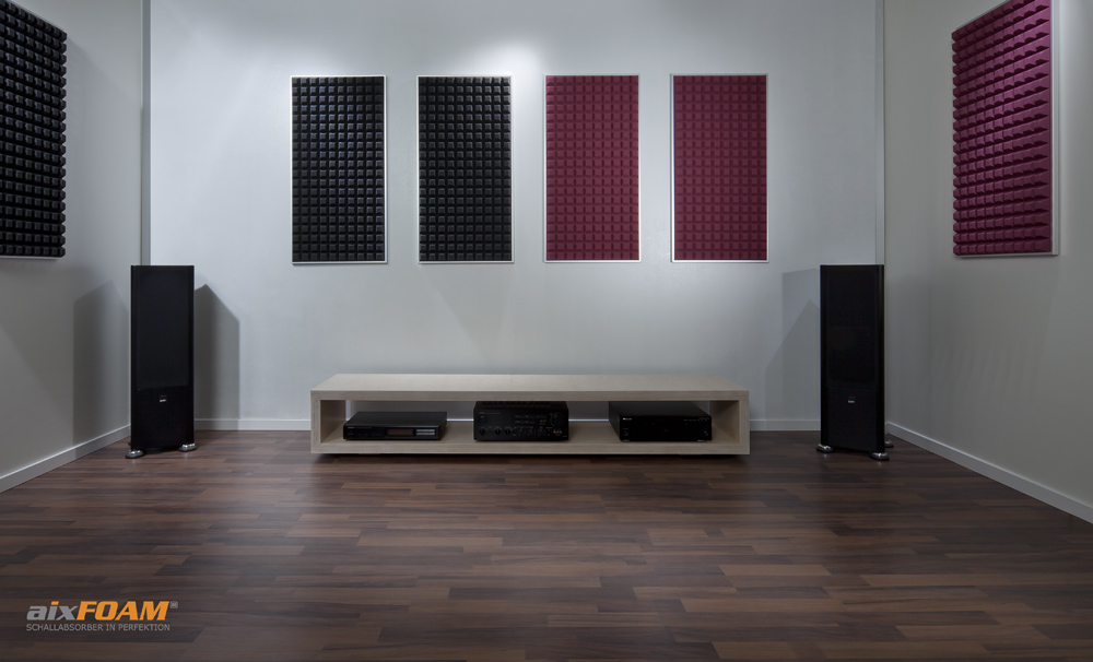 AixFOAM Sound Absorption Panel SH005 Trapezoid Anthracite