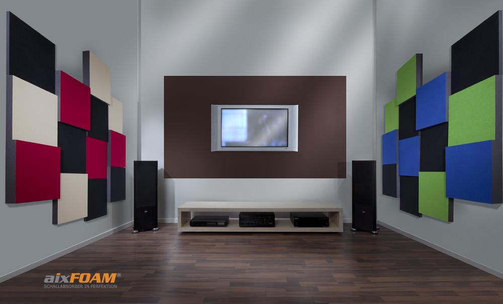 Quality sound insulation - home cinemas, hi-fi studios
