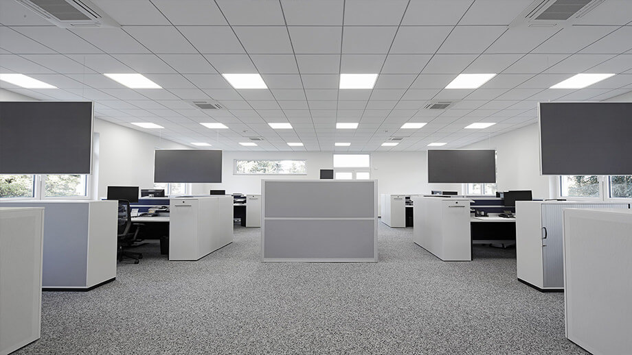 SH030H sound absorbers improve the communication at work.