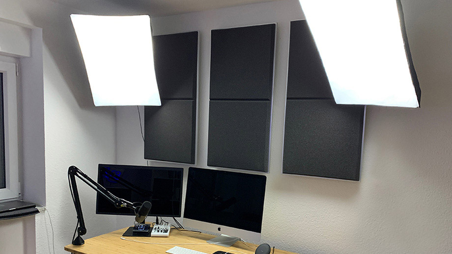 Soundproofing in the recording studio