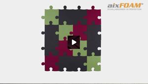 Design Absorption Panel - SH006 - Puzzle - Felt Lamination