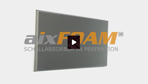 Sound Absorption Panel with Plain Surface (SH001)